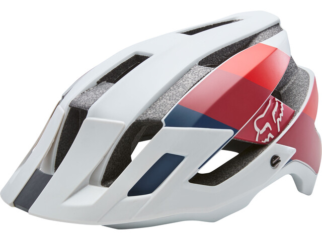 Fox Flux Drafter - Casco de bicicleta Hombre - gris/rojo